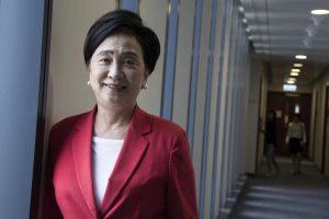 民主黨主席劉慧卿稱該黨成立創意媒體部,透過網絡發佈資訊以吸納年輕選民。