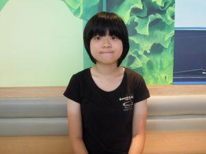 學生覺醒成員曾福澄指自己平時會與同學討論政治民生議題,希望增加同學對社會的認識。