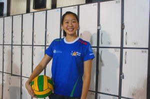 鄭嘉欣希望,退役後能成為體育教師,向中學生推廣水球。