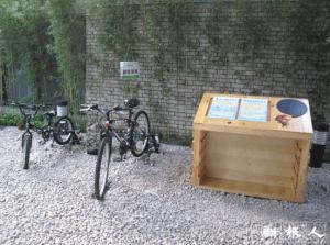 「綠在東區」建有創新動能單車,惟未見市民踴躍使用。
