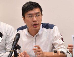 南區區議員區諾軒認為南區的社區重點項目可仿效葵青區推行非工程形式的項目,服務基層。( 由受訪者提供 )