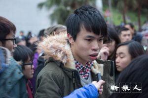 王俊杰就港大學生圍堵沙宣道一事,當場譴責保安及警方安排失當、製造混亂。事後罷委會以「粉身碎骨渾不怕 但留清白在人間」為題發表聲明,回應校方指控。
