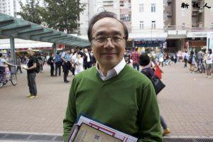 梁家傑表示香港的言論及創作自由要靠香港市民一同努力捍衛。
